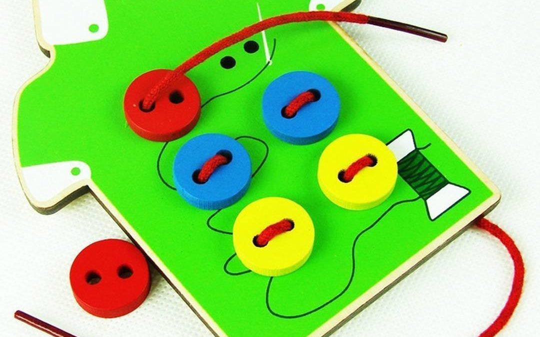 Игры со шнуровкой для детей
